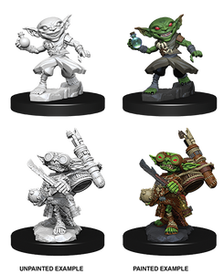 Pathfinder Deep Cuts Unpainted Miniatures: W9 Goblin Male Alchemist