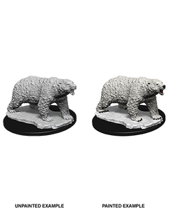Pathfinder Deep Cuts Unpainted Miniatures: W9 Polar Bear