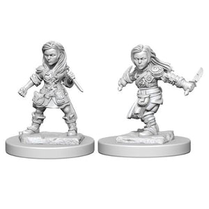 D&D Nolzur's Marvelous Unpainted Miniatures: W1 Halfling Female Rogue
