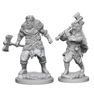 D&D Nolzur's Marvelous Unpainted Miniatures: W1 Human Male Barbarian