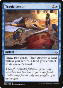 Tragic Lesson [Foil] :: HOU