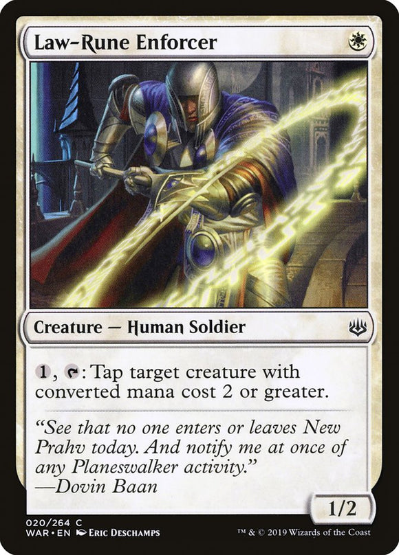 Law-Rune Enforcer [Foil] :: WAR