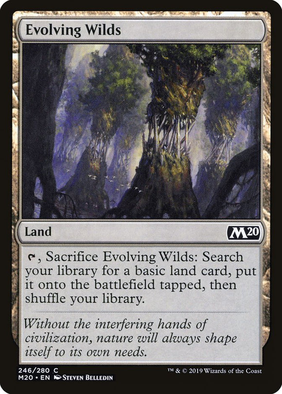 Evolving Wilds [Foil] :: M20