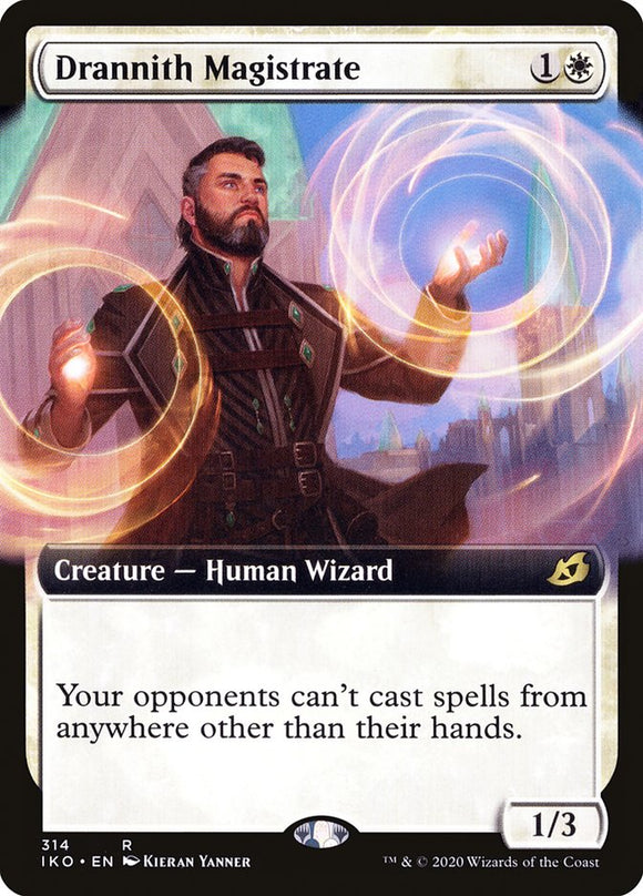 Drannith Magistrate (Extended Art) [Foil] :: IKO