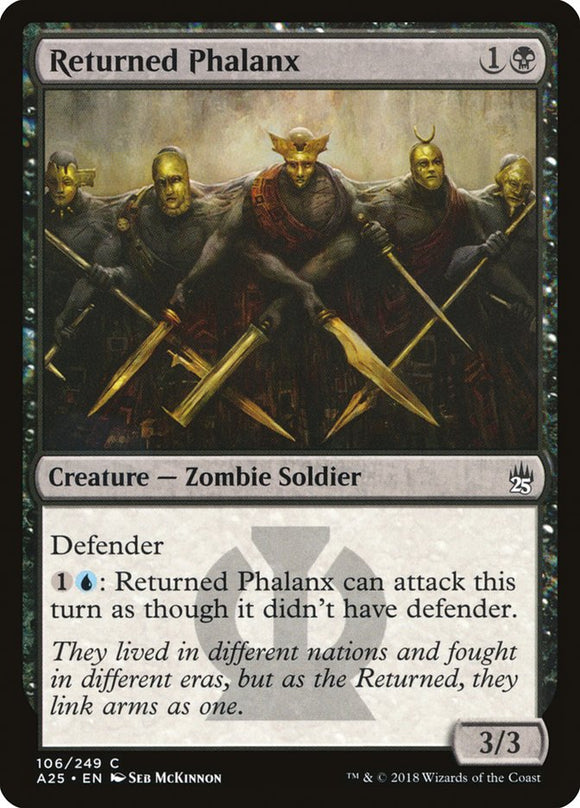 Returned Phalanx [Foil] :: A25