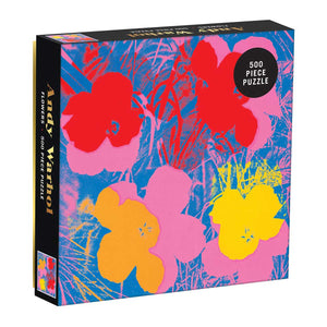 Andy Warhol: Flowers (500 pc puzzle)