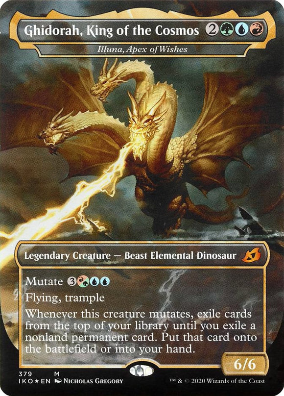 Ghidorah, King of the Cosmos - Illuna, Apex of Wishes [Foil] :: IKO