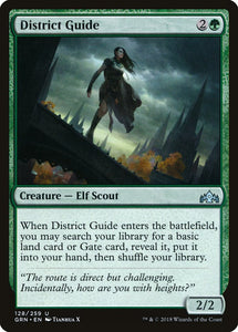 District Guide [Foil] :: GRN