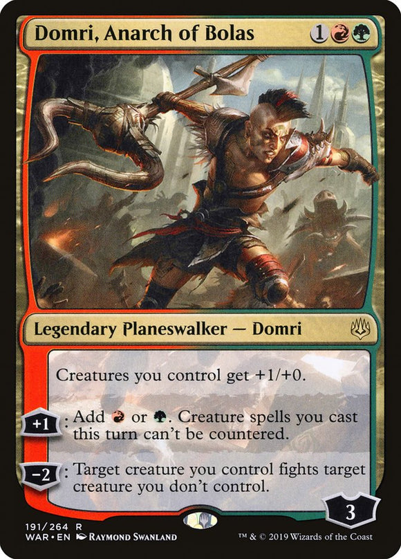Domri, Anarch of Bolas [Foil] :: WAR
