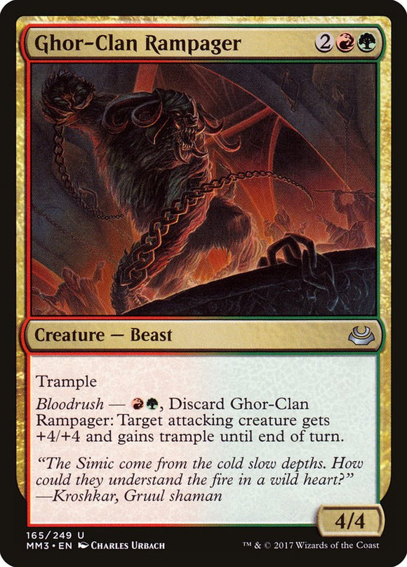 Ghor-Clan Rampager [Foil] :: MM3