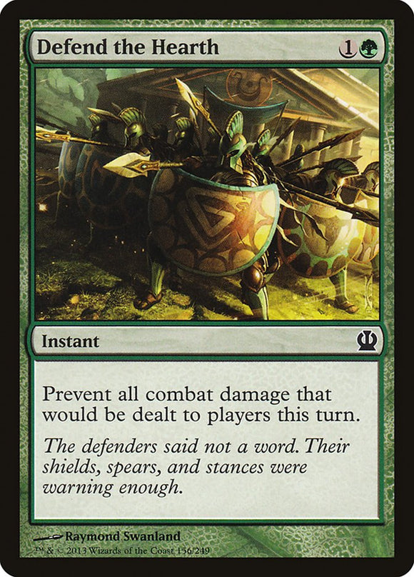 Defend the Hearth [Foil] :: THS