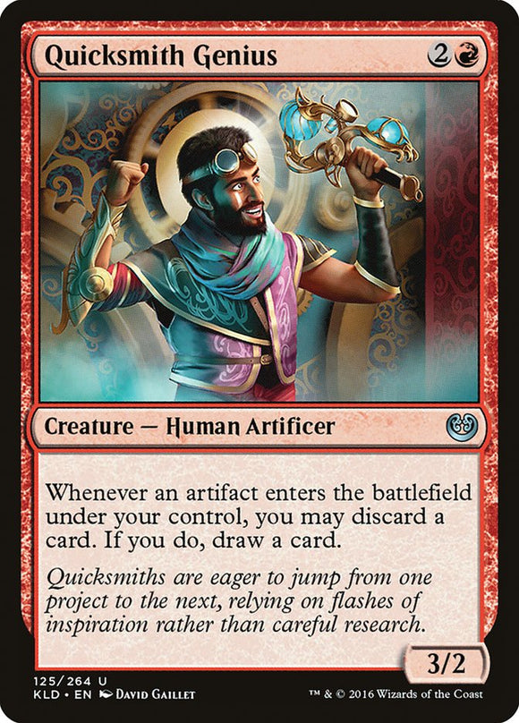 Quicksmith Genius [Foil] :: KLD