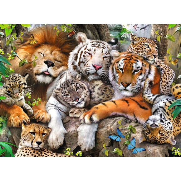 Big Cat Nap (200 pc puzzle)