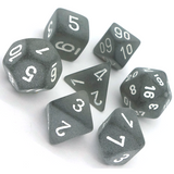 Chessex Frosted Polyhedral 7-Die Set