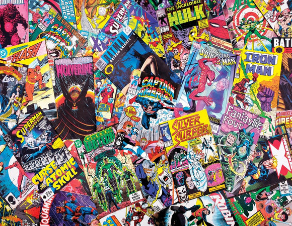 Comic Books Galore (1000 pc puzzle)
