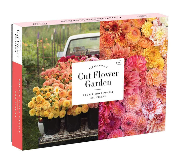 Cut Flower Garden (500 pc double-sided puzzle)