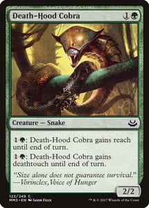 Death-Hood Cobra [Foil] :: MM3