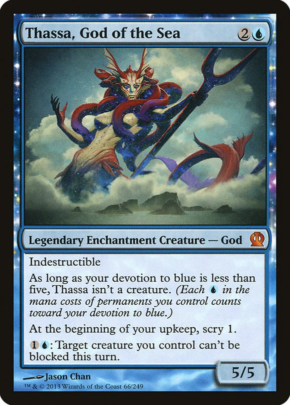 Thassa, God of the Sea [Foil] :: THS