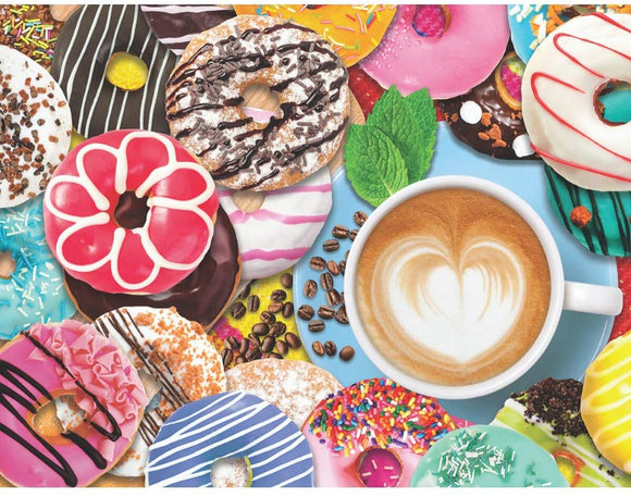 Donuts N Coffee (500 pc puzzle)