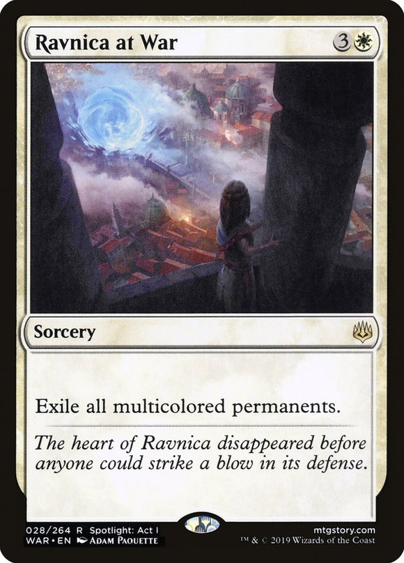 Ravnica at War [Foil] :: WAR