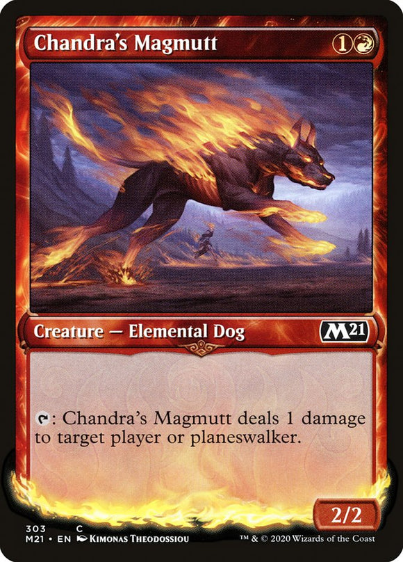 Chandra's Magmutt (Showcase) [Foil] :: M21