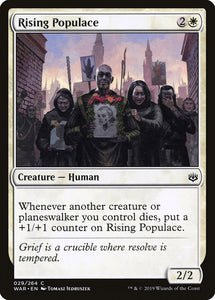 Rising Populace [Foil] :: WAR