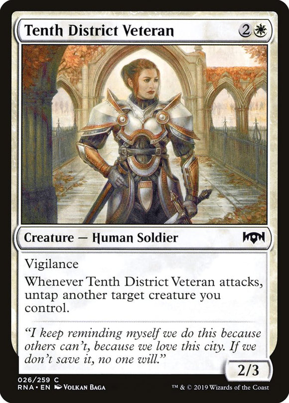 Tenth District Veteran [Foil] :: RNA