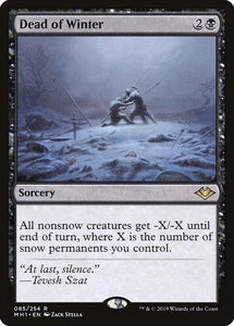 Dead of Winter [Foil] :: MH1