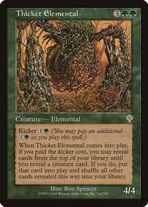 Thicket Elemental :: INV