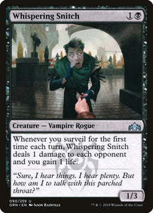Whispering Snitch [Foil] :: GRN