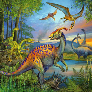 Dinosaur Fascination (3 x 49 pc puzzle)