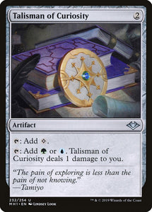 Talisman of Curiosity [Foil] :: MH1