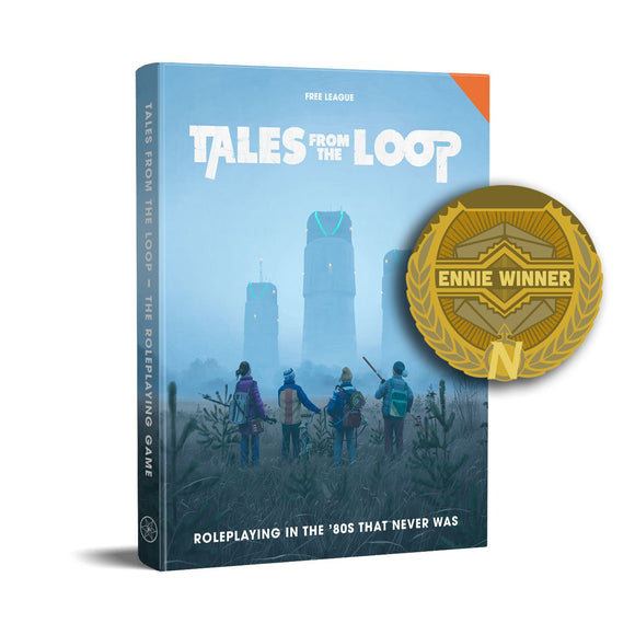 Tales from the Loop RPG (80s Era, Book)
