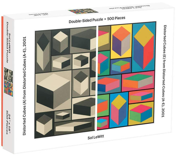 MoMA Sol Lewitt (500 pc puzzle, 2-Sided)