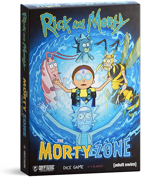Rick & Morty: The Morty Zone Roll and Write Dice Game
