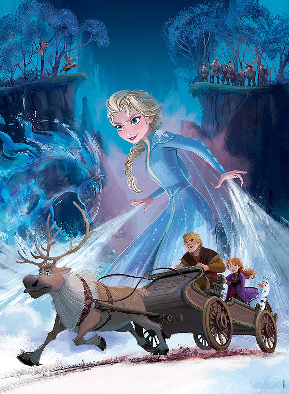 Frozen 2: The Mysterious Forest (200 pc puzzle)