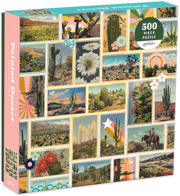 Painted Desert 500 Piece Jigsaw Puzzle