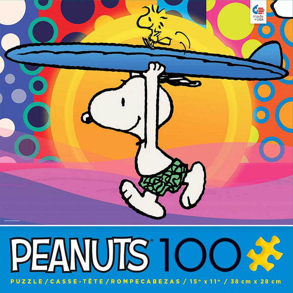 Peanuts - Surf City (100 pc puzzle)