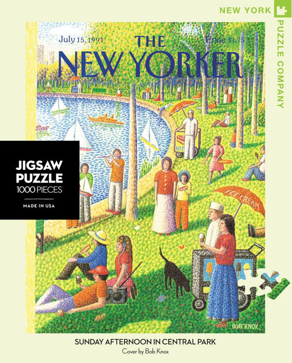 Sunday Afternoon in Central Park (1000 pc puzzle)