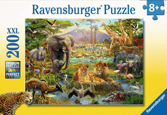 Animals of the Savannah (200 pc puzzle)