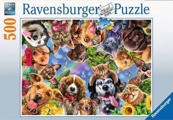 Animal Selfie (500 pc puzzle)