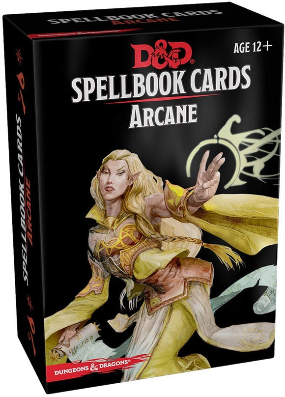 D&D: Spellbook Cards - Arcane Deck