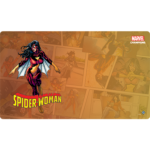 Marvel Champions Spider-Woman Playmat