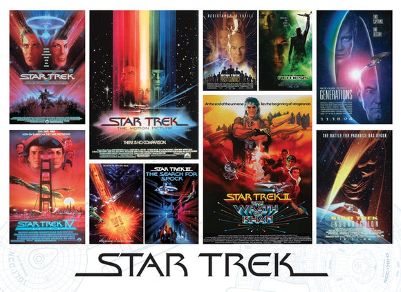 Star Trek: Films (1000 pc puzzle)