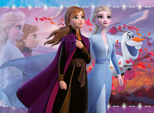 Frozen 2: Strong Sisters (100 pc Glitter puzzle)
