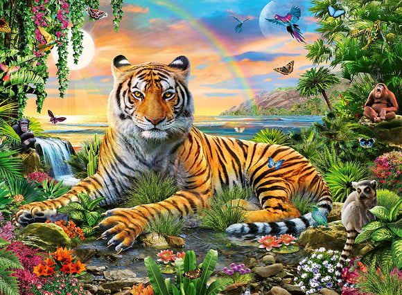Jungle Tiger (300 pc puzzle)