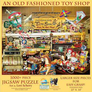 An Old Fashioned Toy Shop (1000 pc puzzle)