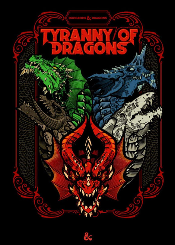 D&D RPG: Tyranny of Dragons (Alt Cover)