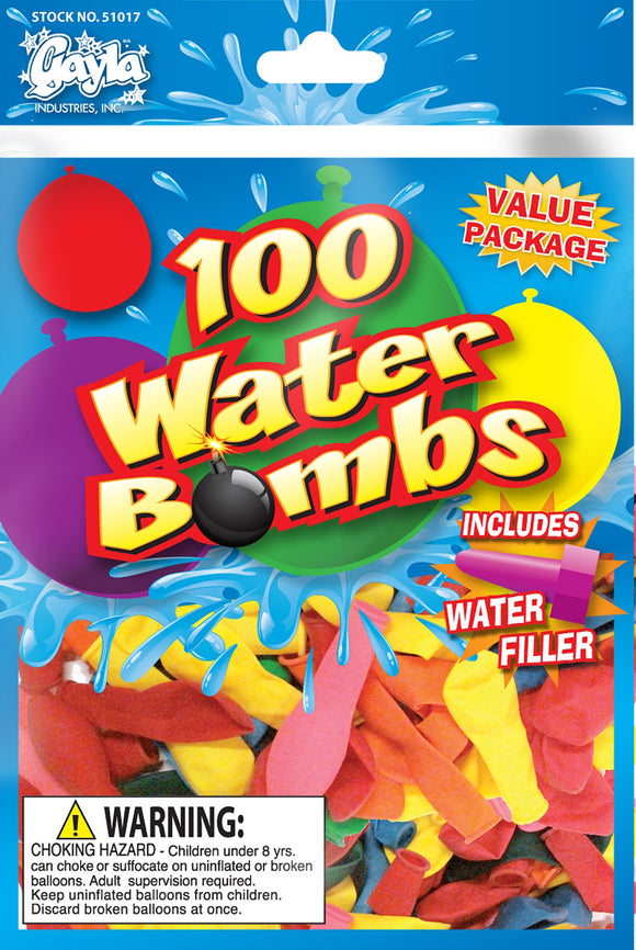 Water Bomb Balloons 100 ct.