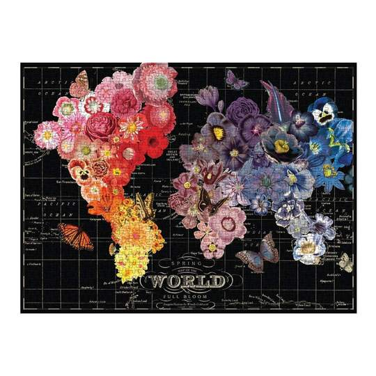 Wendy Gold Full Bloom (1000 pc puzzle)